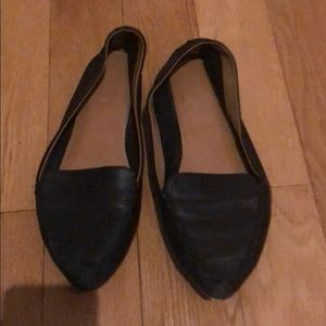 Used Jcrew Factory Edie Leather Loafers